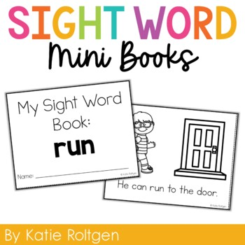 Sight Word Mini Book:  Run