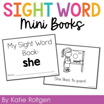 Sight Word Mini Book:  She