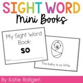 Sight Word Mini Book:  So