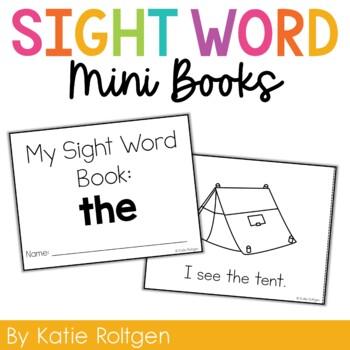Sight Word Mini Book:  The