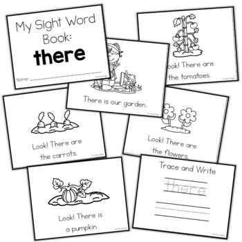 Sight Word Mini Book:  There