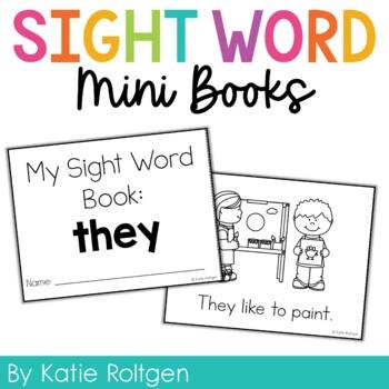 Sight Word Mini Book:  They