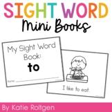 Sight Word Mini Book:  To