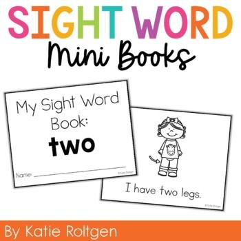 Sight Word Mini Book:  Two
