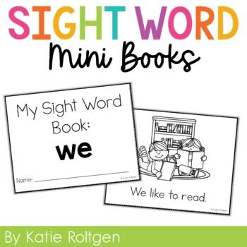 Sight Word Mini Book:  We