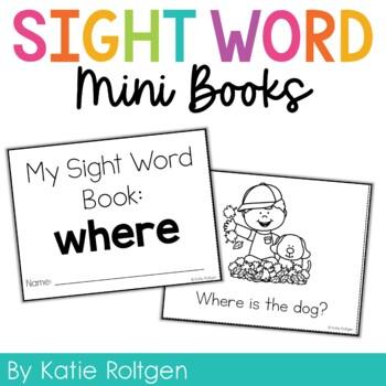 Sight Word Mini Book:  Where