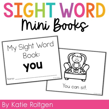 Sight Word Mini Book:  You