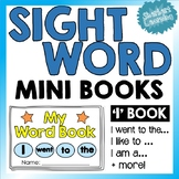 Sight Word Mini Books - Copy & Color! Writing & Spelling - Simple 'I' Sentences