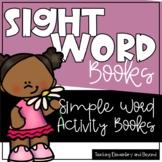 104 Sight Word Printable Mini Books including Pre-primer a