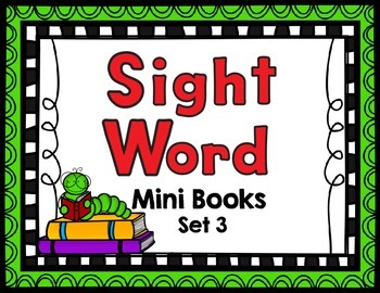 Sight Word Mini Books- Dolch First Grade Words