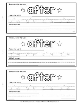 Sight Word Books {EDITABLE}