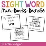 Sight Word Mini Books BUNDLE