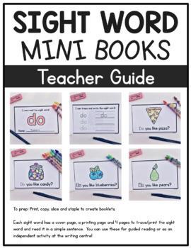Sight Word Mini Books Mega Bundle