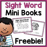 Sight Word Mini Books - Free
