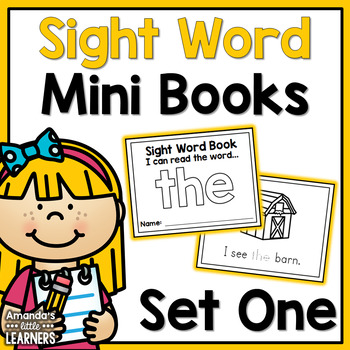 Sight Word Mini Books - Set 1