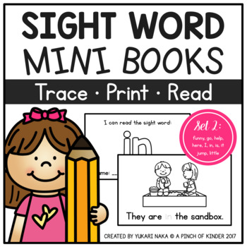 Sight Word Mini Books - Set 2