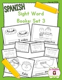 Sight Word Mini Books: Set 3 (Spanish)