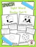 Sight Word Mini Books: Set 4 (Spanish)