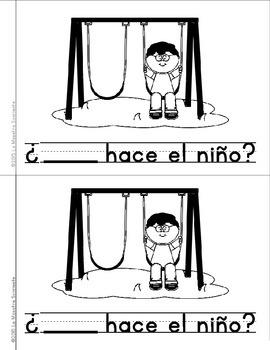Sight Word Mini Books: Set 5 (Spanish)