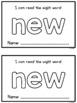 Sight Word Mini Books - Set 7