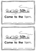 Sight Word Mini Books - copy and color! Writing & Spelling - Here, Come + more