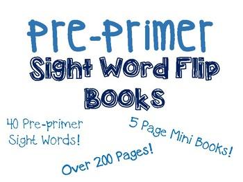 Sight Word Mini Flip Books