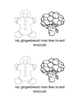 "Winter Sight Word Mini Reader For ""my"" & ""eat"" FREEBIE"