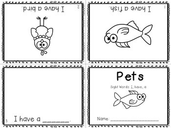 Sight Word Mini-Readers