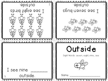 Sight Word Mini-Readers