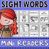 Sight Words Fluency Mini Readers with Spiral Review