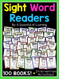 Sight Word Readers and Intervention Activities | Distance Learning