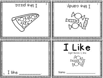 Sight Word Mini-Readers Freebie!