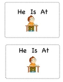 Sight Word Mini-book-  He Is At