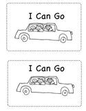 Sight Word Mini-book-  I Can Go