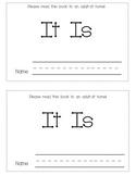 Sight Word Mini-book-  It Is