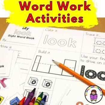Sight Word Minibook -Level 2 Set (Dolch list)