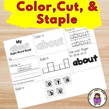 Sight Word Mini Book -Level 3 Set