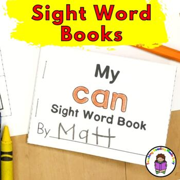 Sight Word Minibook - Pre-Primer Set (Dolch list)