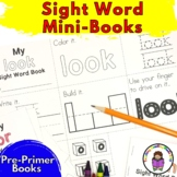 Sight Word Mini Book -Pre-Primer Set