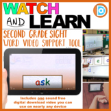 Sight Word Minilesson Video | 2nd Grade | Ask