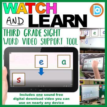 Sight Word Creator  |  Video  |  Third Grade  |  Sea