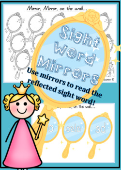 Sight Word Mirrors - Set of 98 BASED ON FRY WORDS