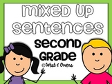 Sight Word Mixed Up Sentences {1st-2nd Grade}