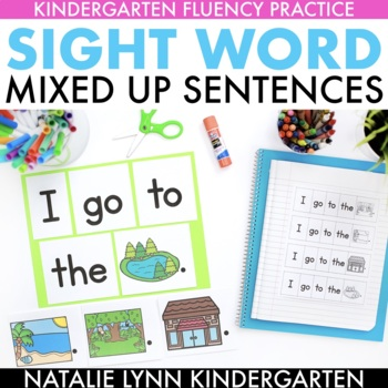 Sight Word Fluency Practice | Sight Word Mixed Up Sentences