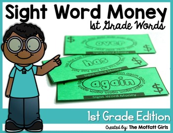 Sight Word Money (1st Grade Edition)