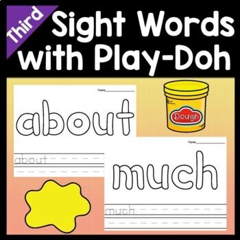 Sight Word Money {Fry 100 Sight Word List}