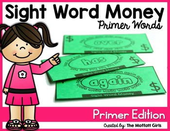 Sight Word Money: (The Bundle)