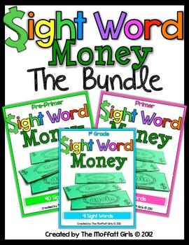 Sight Word Money (The Bundle)