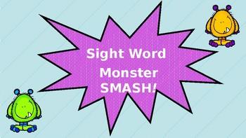 Sight Word Monster SMASH!