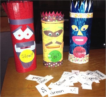 Sight Word Munching Monsters Game